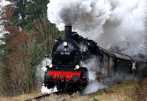 Volldampf auf Deutschlands Schienen - immer ein grossartiges Erlebnis!