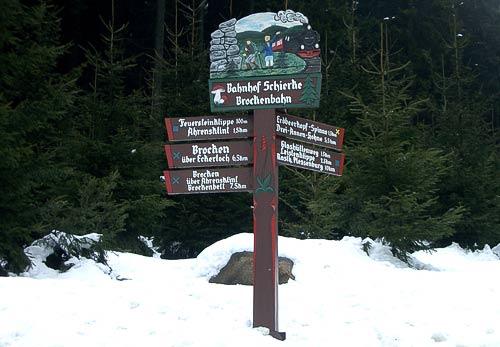 Wanderwege durch den Harz - Ausgangspunkt in Schierke