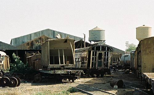 Das Bahnbetriebswerk Atbara der Sudan Rail