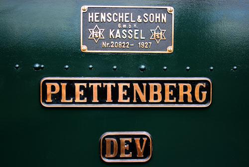 Super gepflegt, die 'Plettenberg', Baujahr 1927.