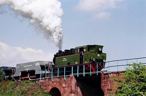 Die Mansfelder Bergwerks Bahn - ein lebendiges Industriedenkmal