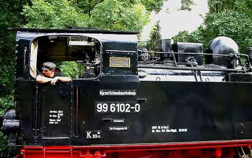 99 6102 - Fiffi, die Schwesterlok der Heeresfeldbahnlok Pfiffi