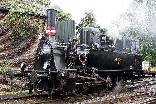 Angelner Dampfeisenbahn - Dampflok 654