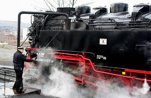Ohne Wasser läuft bei Dampflokomotiven gar nichts!