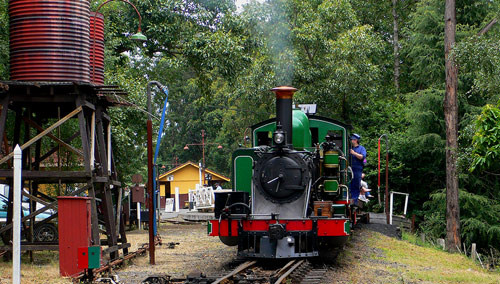 Puffing Billy in Lakeside