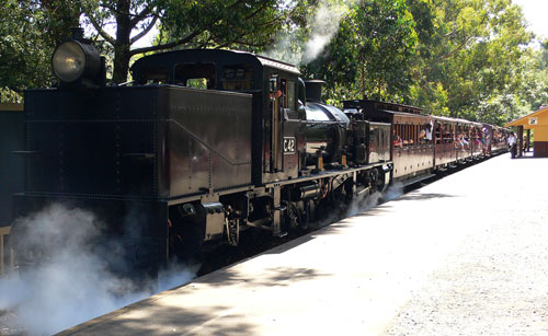 Garrett G 42 bei Puffing Billy in den Dandenong Ranges