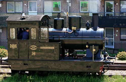 Dampflok No. 30 - gebaut 1922 von Hanomag in Hannover-Linden