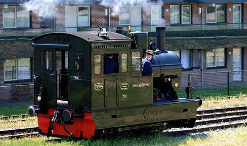 Dampflokomotive Ir.P.H.Bosboom von Hanomag