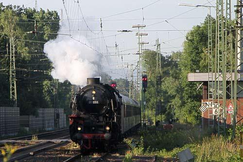 01 1066 mit dem Bäderzug - auf nach Norderney!