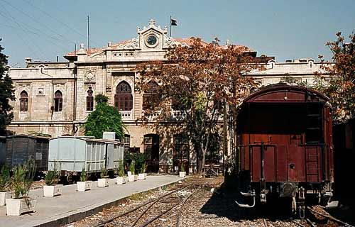 Der Hedjaz-Bahnhof im Zentrum von Damaskus