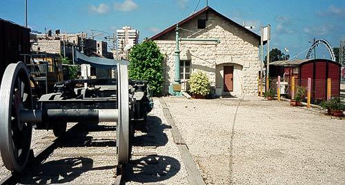 Empfangsgebäude der ehemaligen Hedjazbahn in Haifa-Mizrah