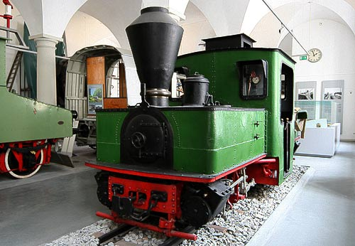 Péchet-Bourdon Gelenklokomotive - Dampflok-Rarität im VM Dresden