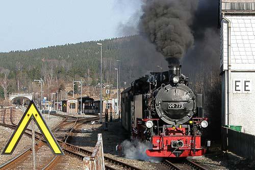 Auf ins Erzgebirge - mit den nostalgischen Zügen der Fichtelbergbahn