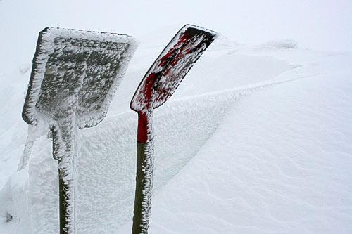 Winterimpressionen am Brockenbahnhof