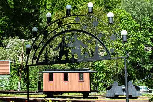 Kleinbahn-Romantik im Erzgebirge