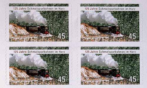 45-Cent-Sonderbriefmarke der Deutschen Post - ab 9. Februar 2012 erhältlich.