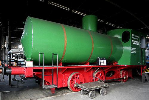 Dampfspeicherlok C-FL der Hohenzollern AG