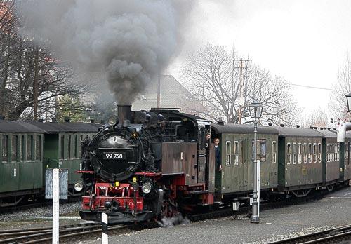 Zittauer Schmalspurbahn - Bimmelbahn im Zittauer Gebirge