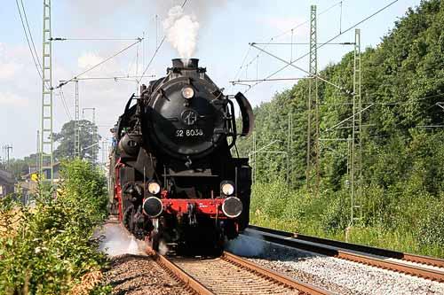 Dampflok Else zwischen Haste und Wunstorf