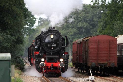 52 8139 - Veluwsche Stoomtrein Maatschappij, Apeldoorn, Niederlande