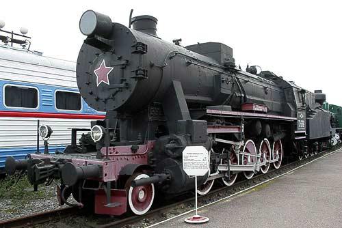 Sowjetische Beutelok der Baureihe 52 - Reihe ТЭ
