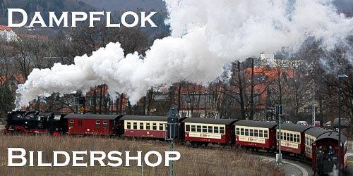Dampfeisenbahn-Fotos und -Souvenirs - vom Feinsten!