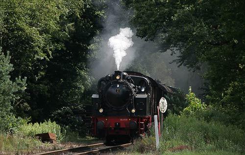 Jan Harpstedt am Bahnübergang