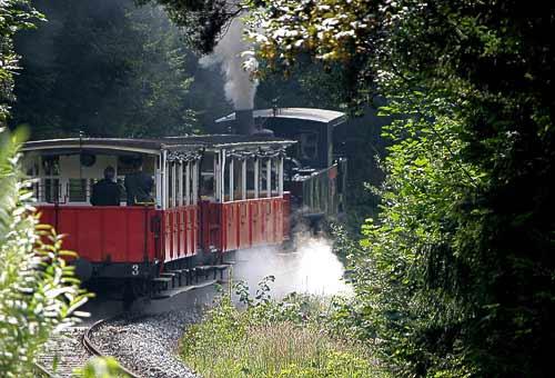 Die Achenseebahn zwischen Maurach und Eben