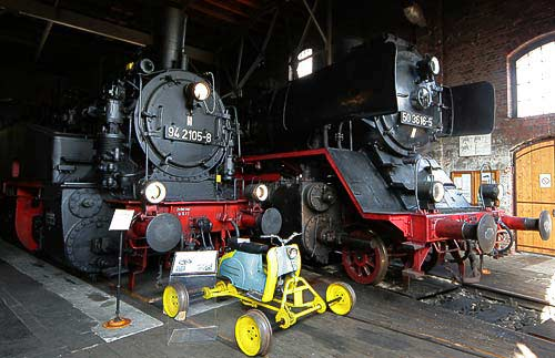 Dampflok-Schätze - 94 2105 und die betriebsfähige 50 3616