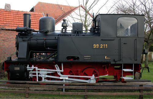Dampflokomotive 99 211 der Inselbahn Wangerooge