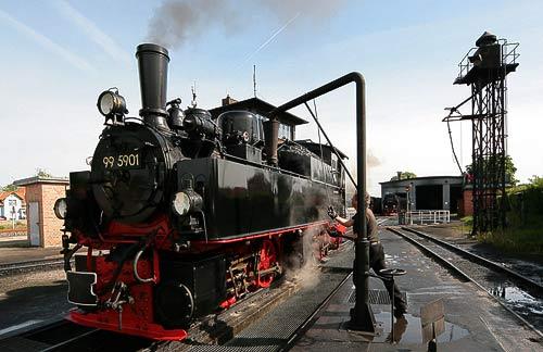 Die Mallet-Lok 99 5901 - seit 1897 unermüdlich im Harz-Einsatz