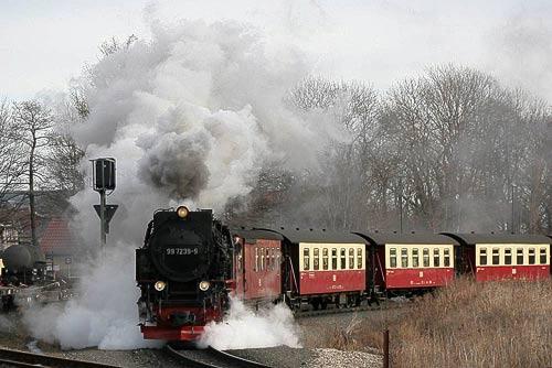 Dampflok-Dynamik in Fotos einfangen... bei den Harzer Schmalspurbahnen!