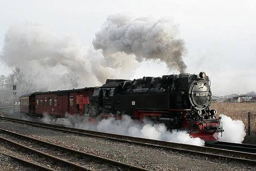 Fotosonderfahrten mit Scheinanfahrten und Fotohalten bei der HSB – 2012