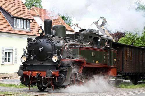 Gleich ist das Ziel erreicht - Dampflok T 13 No. 7906 'Stettin'