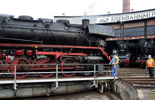 Drehscheiben-Betrieb im BW Dresden-Altstadt