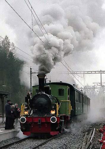 'Schnaaggi-Schaaggi' – von der Zürcher Museumseisenbahn