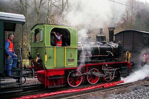 Schnaaggi-Schaaggi - auf der Sihltalbahn