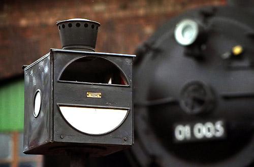 Schnellzuglok 01 005 - eine der ersten Einheitslokomotiven
