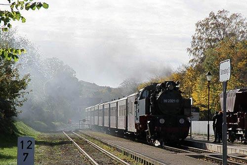 Der Bahnhof Kühlungsborn-Ost ist gleich erreicht