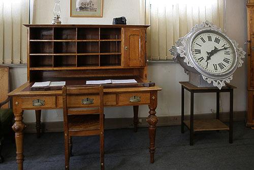 Büro des Stationmasters