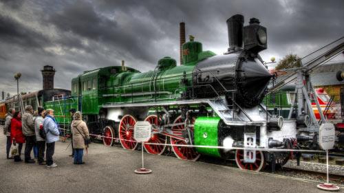 Oktoberbahnmuseum St. Petersburg