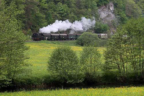 Dampfbahn Fränkische Schweiz
