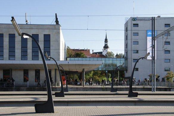 Der Bahnhof Tallinn-Kalamaja in Estland